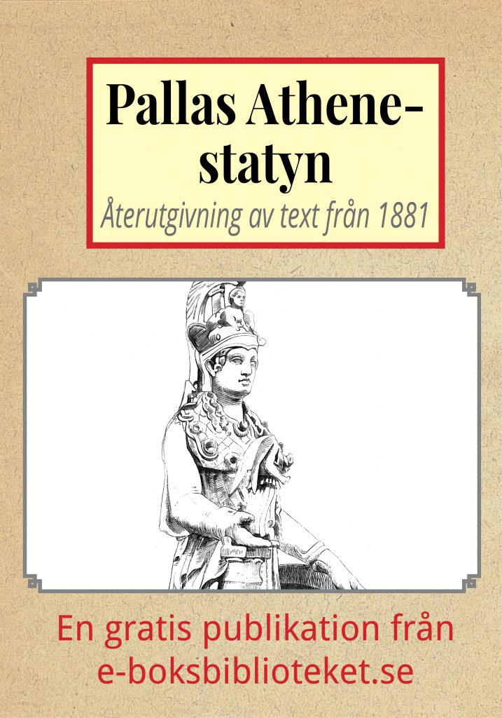 Book Cover: Pallas Athene-statyn