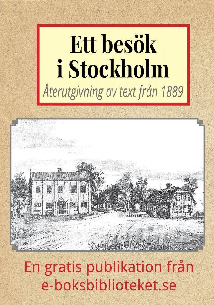 Book Cover: Ett besök i Stockholm