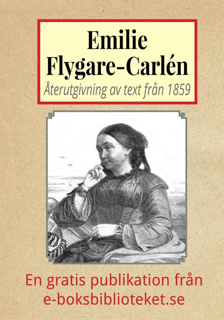 Book Cover: Författarinnan Emilie Flygare-Carlén