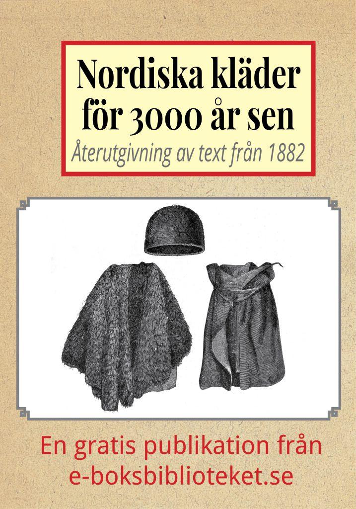 Book Cover: Nordiska kläder för 3000 år sen