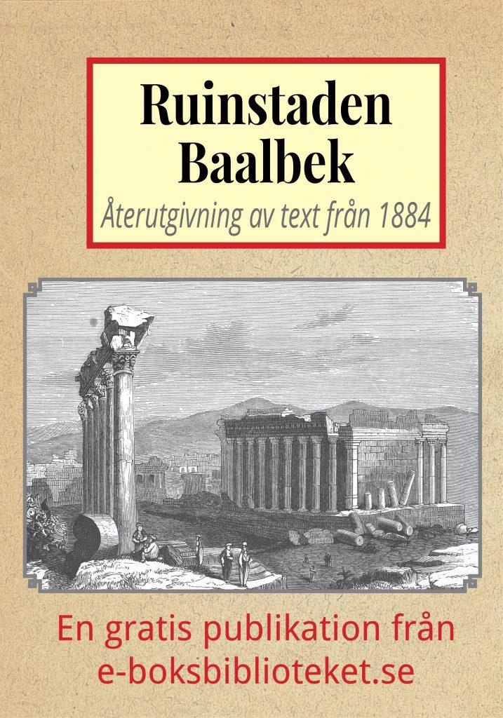 Book Cover: Skildring av ruinstaden Baalbek