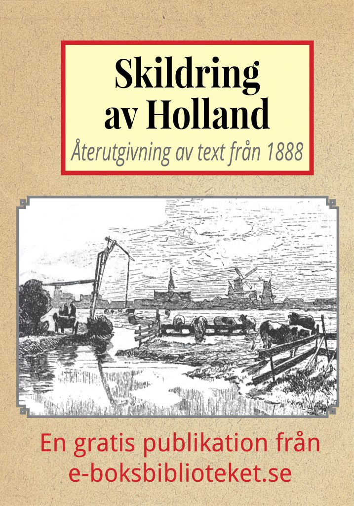 Book Cover: Skildring av Holland år 1888