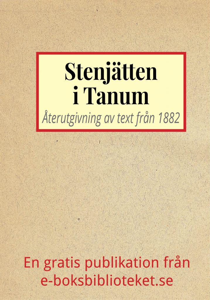 Book Cover: Sägnen om stenjätten från Tanum