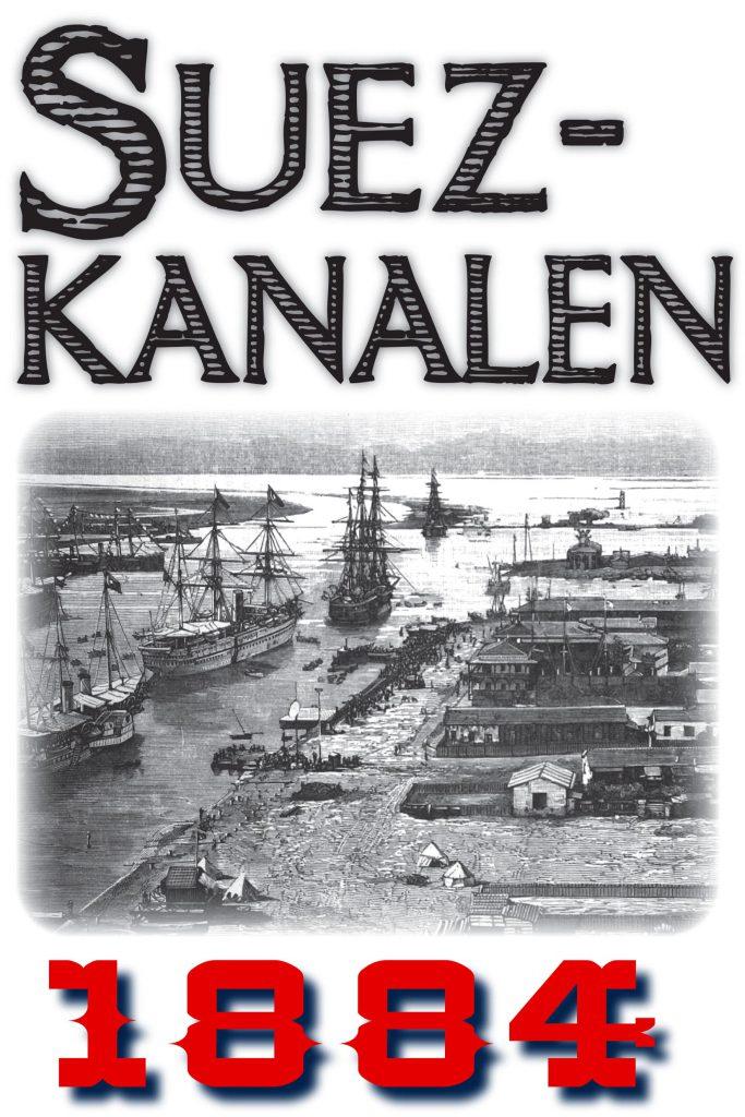 Book Cover: Skildring av Suezkanalen år 1884