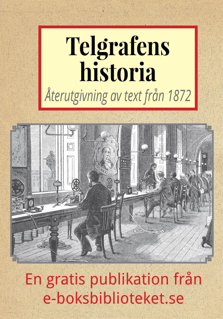 Book Cover: Telegrafens historia