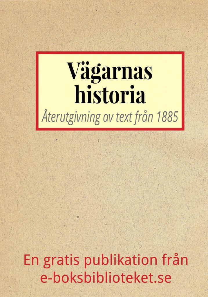 Book Cover: Vägarnas historia