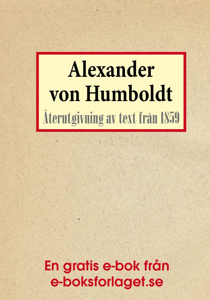 Book Cover: Biografi: Upptäckaren Alexander von Humboldt