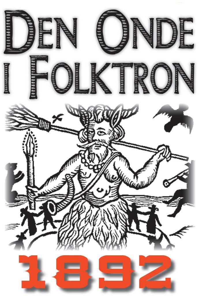 Book Cover: Den onde i folktron