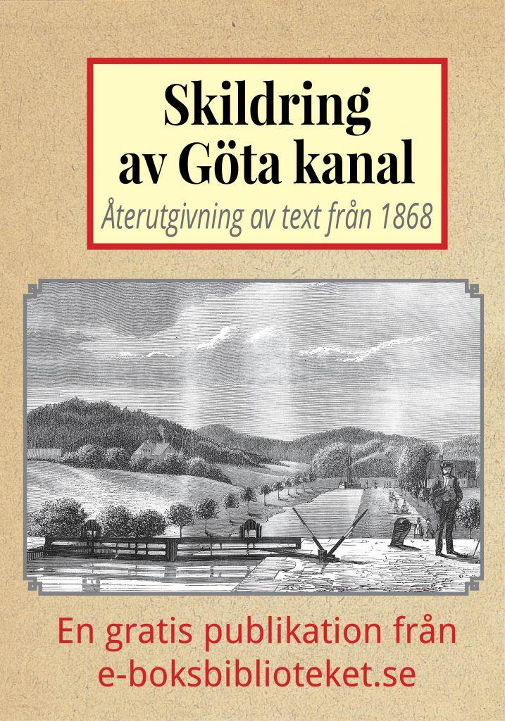 Book Cover: Skildring av Göta kanal