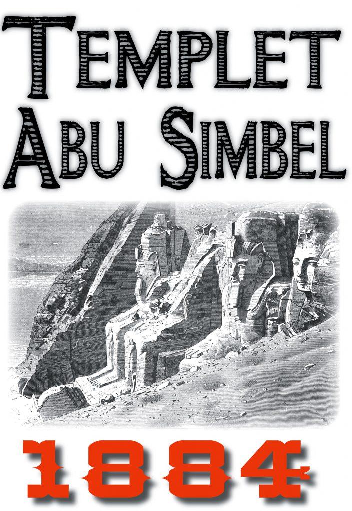Book Cover: Skildring av templet i Abu Simbel år 1884
