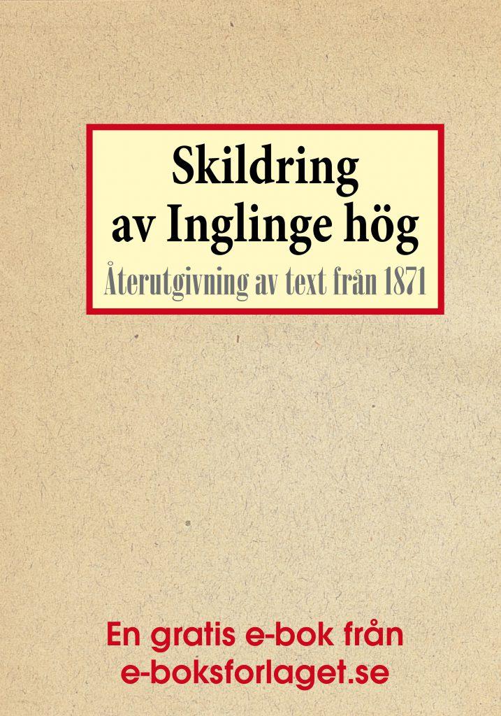 Book Cover: Skildring av Inglinge hög