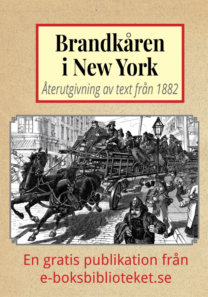 Book Cover: Brandkåren i New York