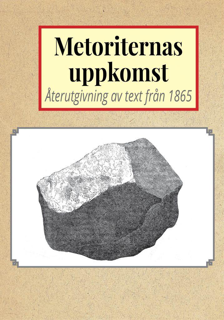 Book Cover: Om meteoriternas uppkomst