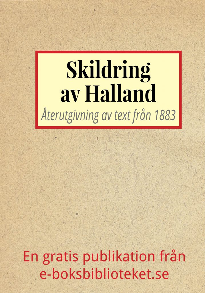 Book Cover: Skildring av Halland
