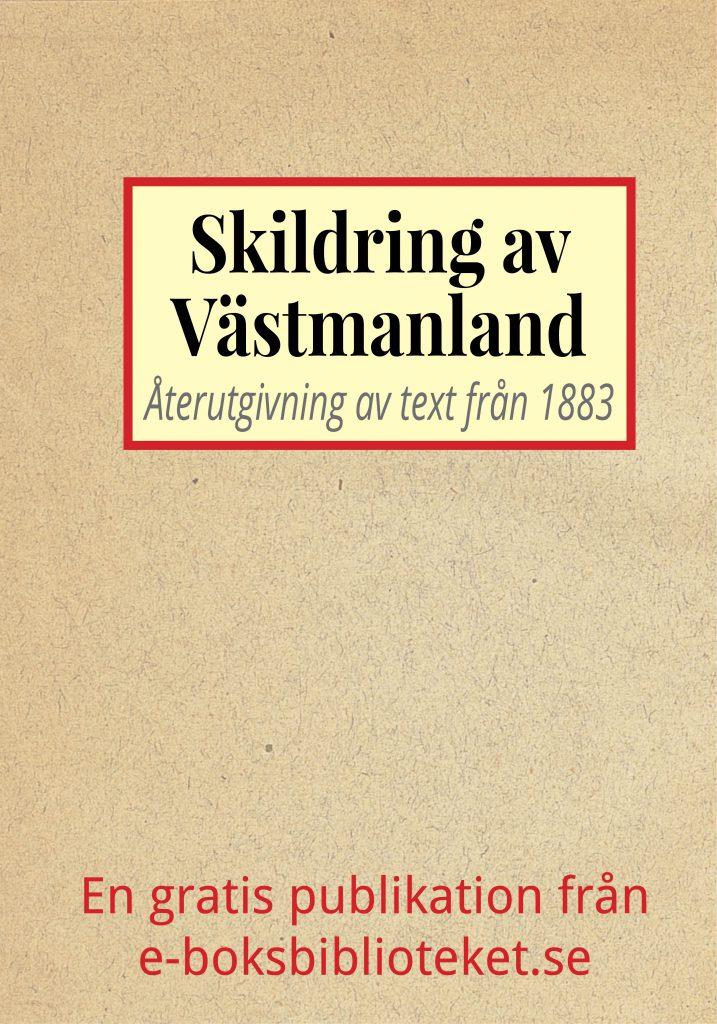 Book Cover: Skildring av Västmanland