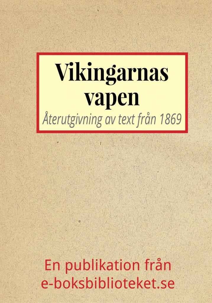 Book Cover: Vikingarnas vapen