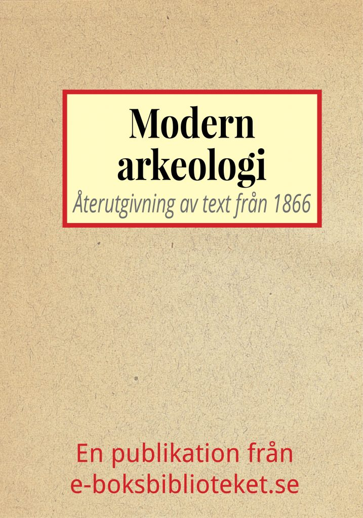 Book Cover: Modern arkeologi