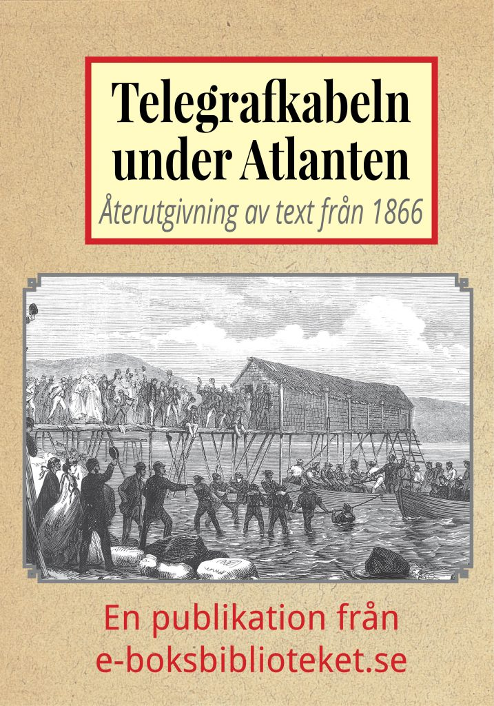 Book Cover: Telegrafkabeln under Atlanten