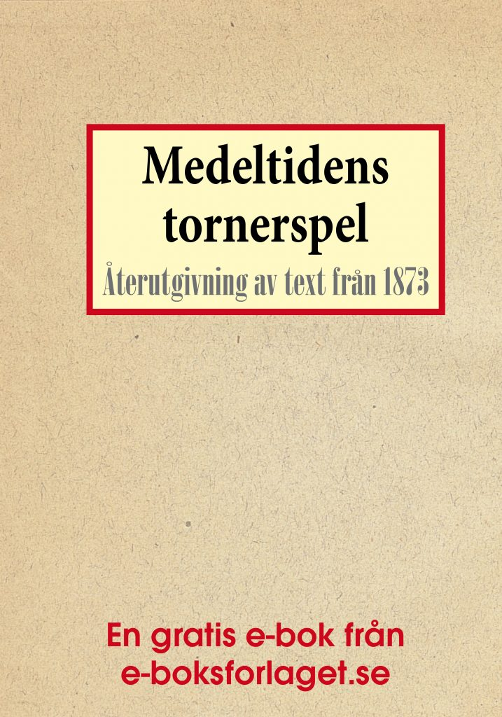 Book Cover: Medeltidens tornerspel
