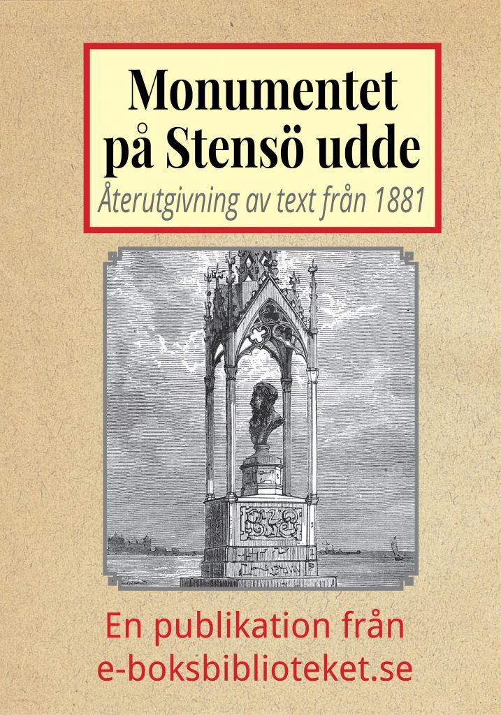 Book Cover: Monumentet på Stensö udde