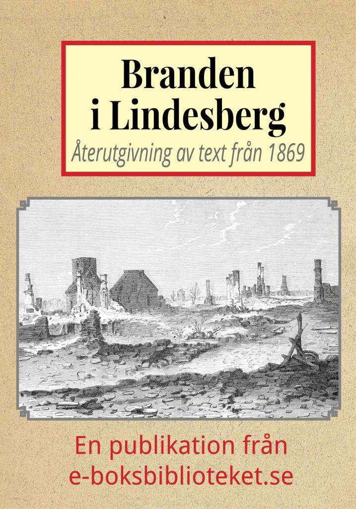 Book Cover: Lindesberg före och efter branden