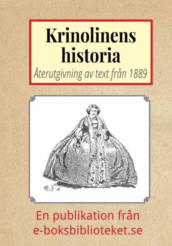 Book Cover: Krinolinens historia