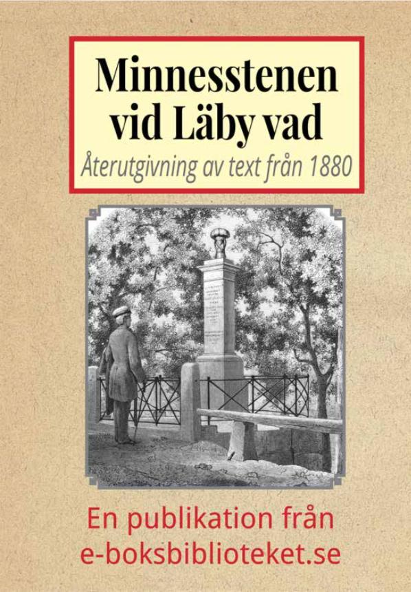 Book Cover: Minnesstenen vid Läby vad