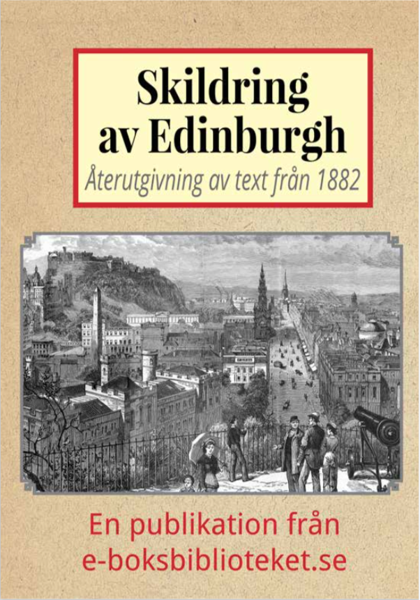 Book Cover: Skildring av Edinburgh