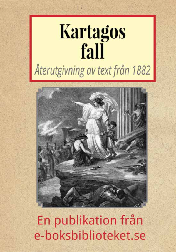 Book Cover: Kartagos fall