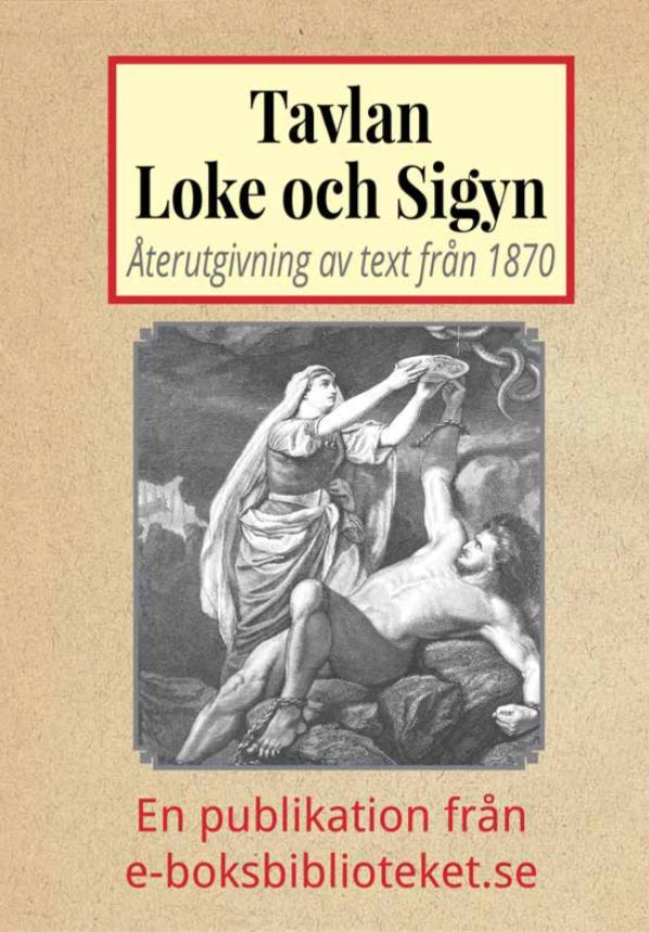 Book Cover: Tavlan Loke och Sigyn