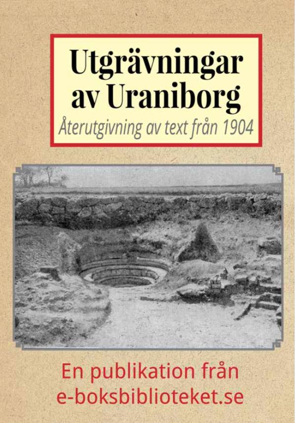 Book Cover: Utgrävningar av Uraniborg