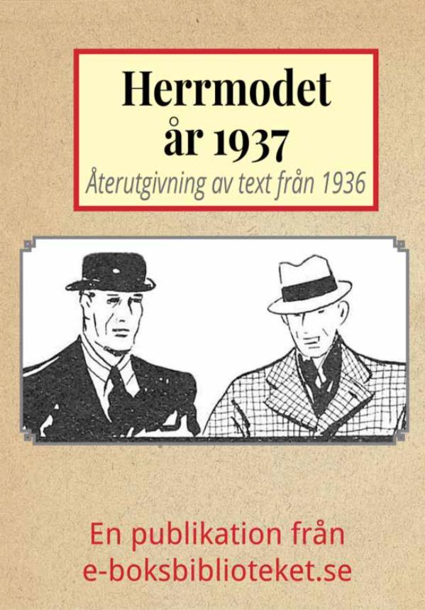 Book Cover: Herrmodet år 1937
