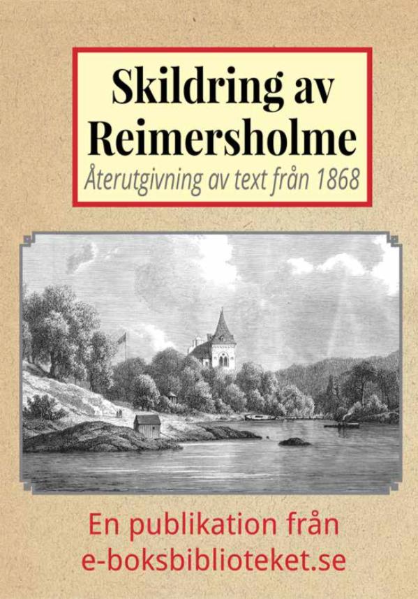 Book Cover: Skildring av Reimersholme