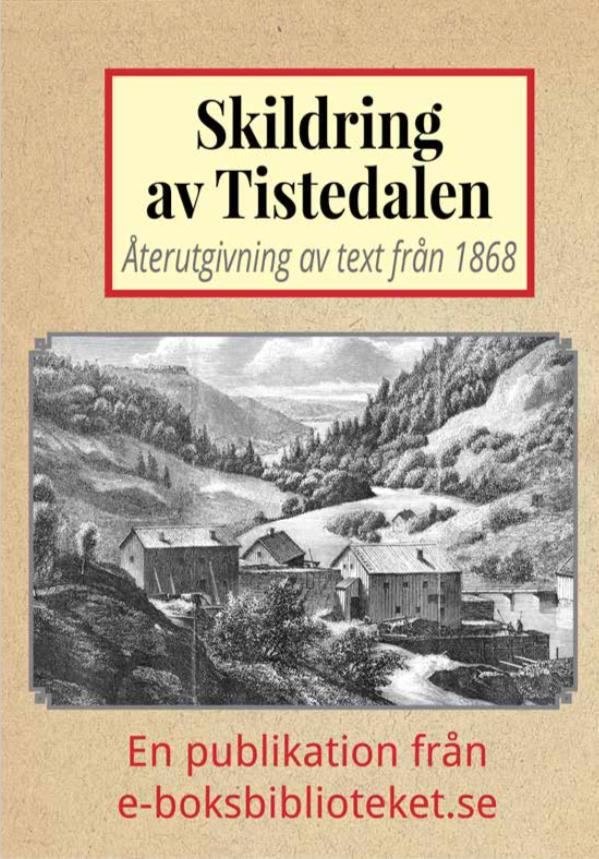Book Cover: Skildring av Tistedalen