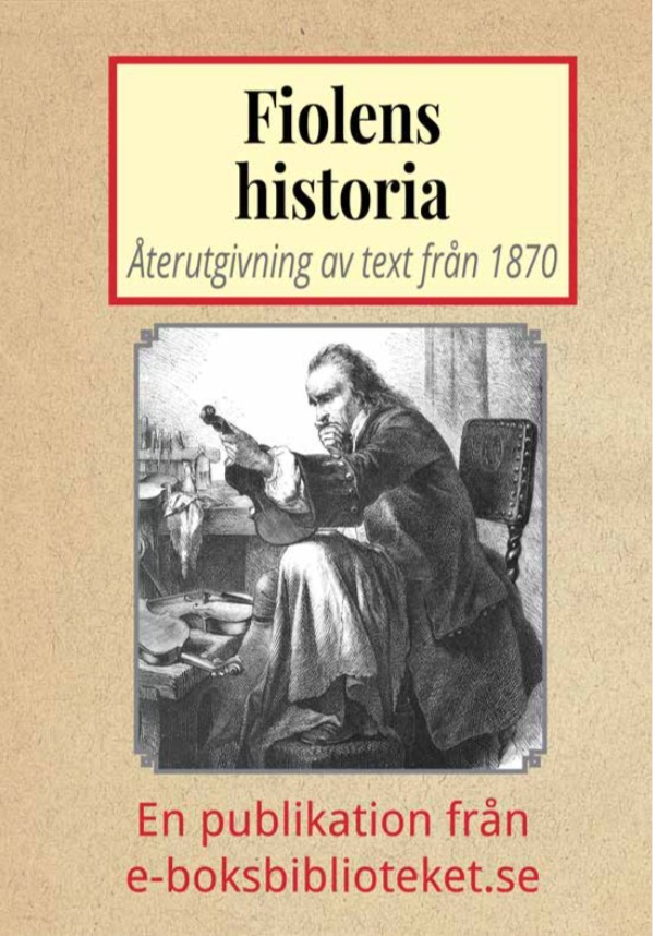 Book Cover: Fiolens historia