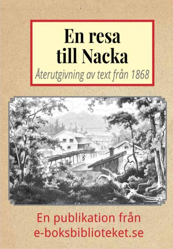 Book Cover: En utfärd till Nacka