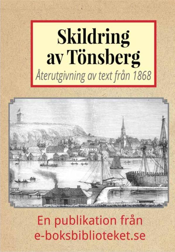 Book Cover: Skildring av Tönsberg