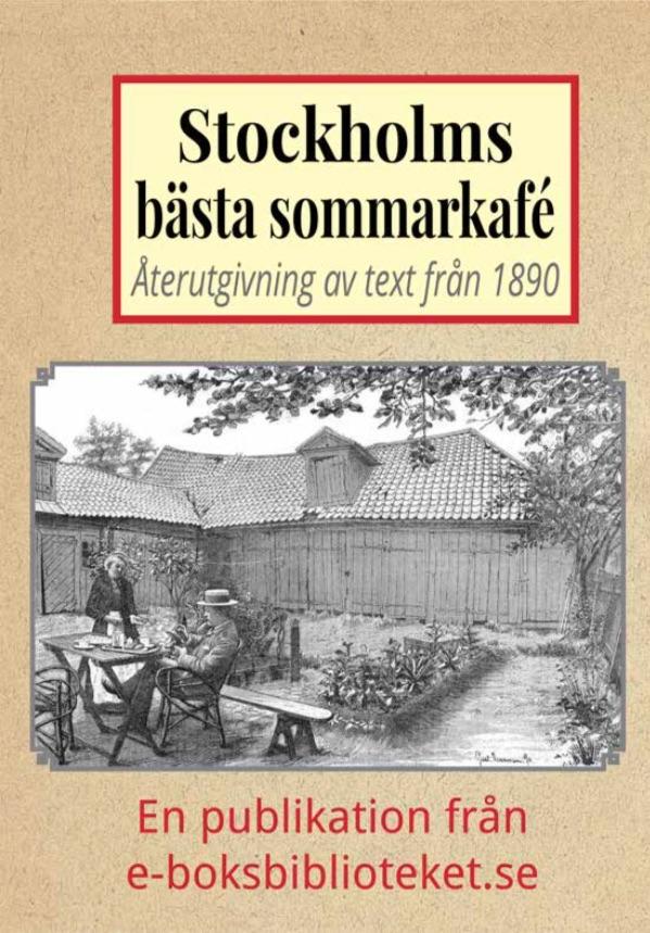 Book Cover: Stockholms mest pittoreska sommarkafé
