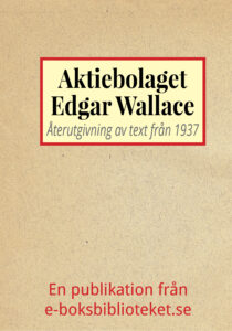 Book Cover: Aktiebolaget Edgar Wallace
