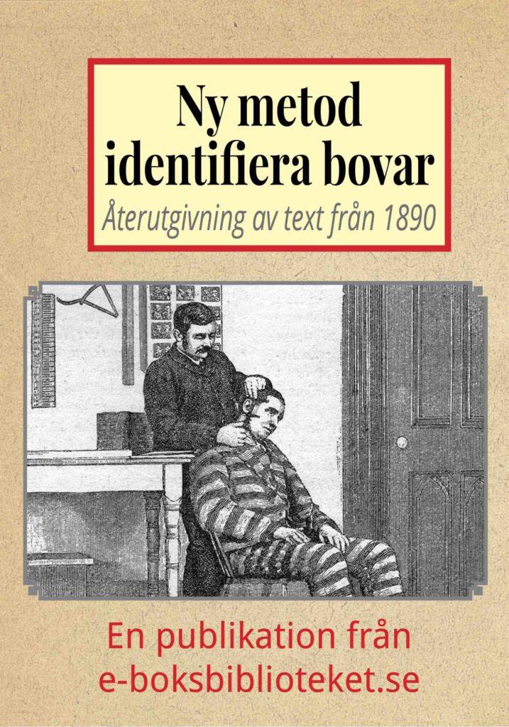 Book Cover: Ny metod att identifiera brottslingar