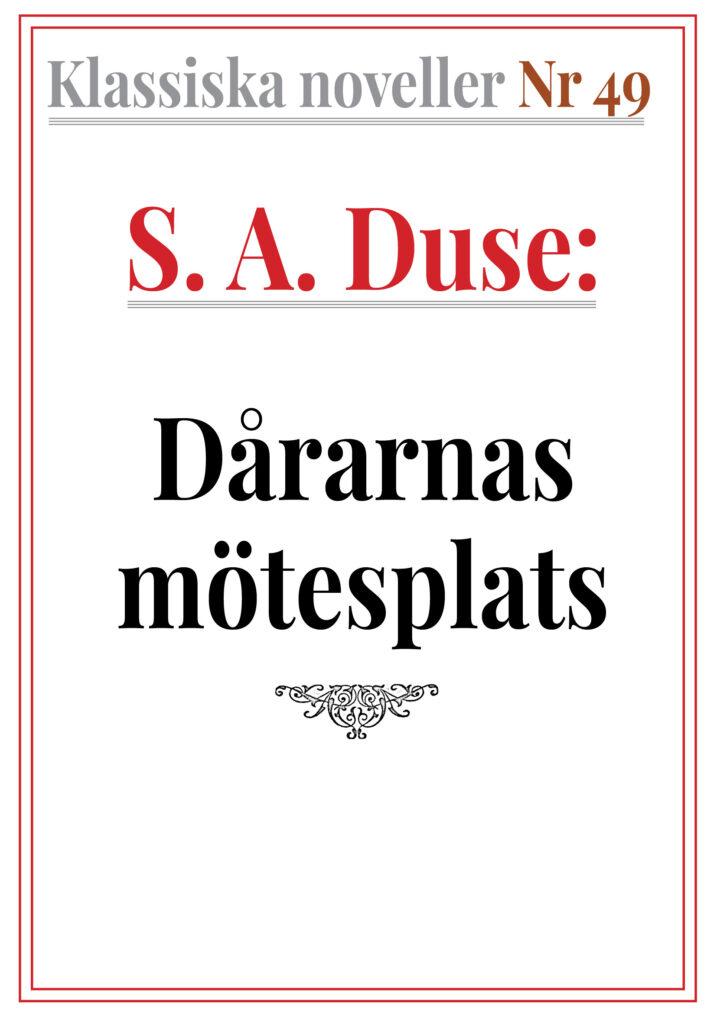 Book Cover: Dårarnas mötesplats