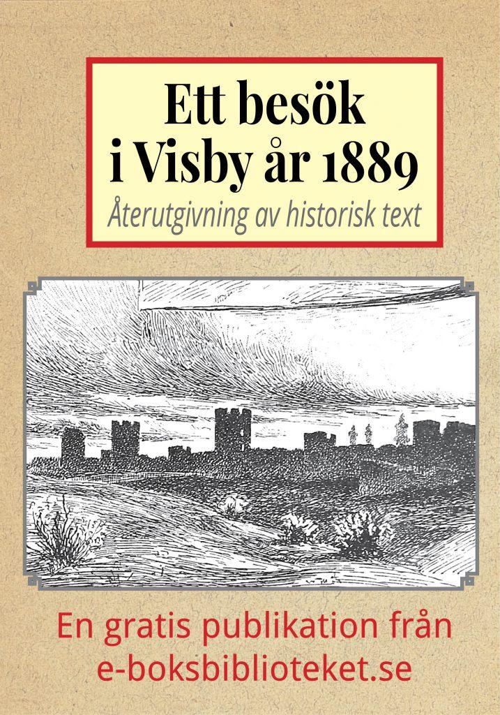Book Cover: Ett besök i Visby år 1889