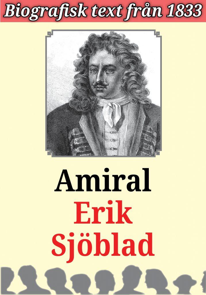 Book Cover: Biografi Amiral Erik Sjöblad