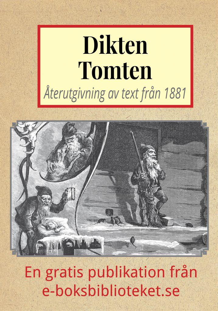 """Book Cover: Dikten """"Tomten"""""""