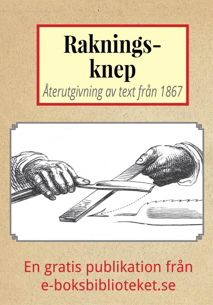 Book Cover: Rakningsknep år 1867