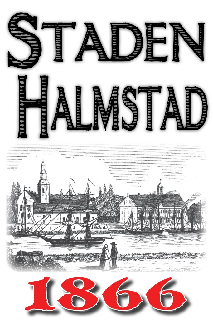 Book Cover: Skildring av staden Halmstad