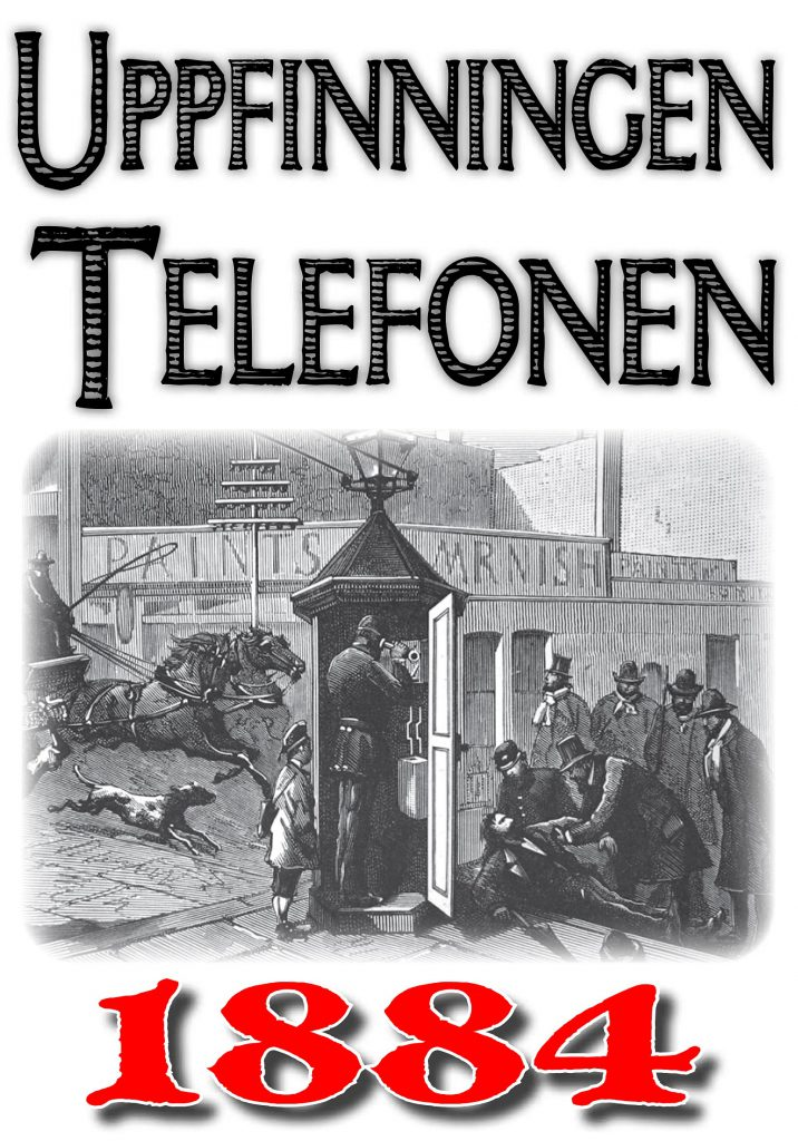 Book Cover: Så uppfanns telefonen
