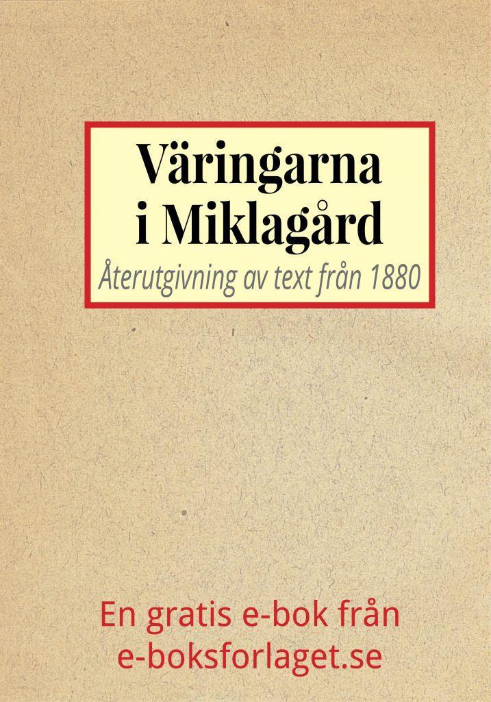 Book Cover: Väringarna i Miklagård
