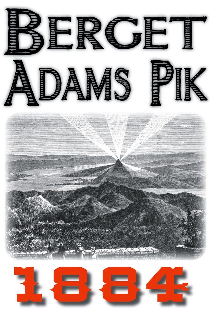 Book Cover: Skildring av bergstoppen Adams pik år 1884