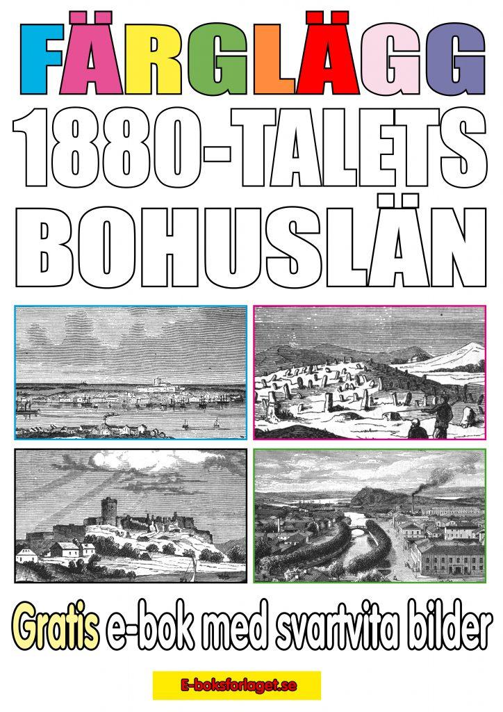 Book Cover: Färglägg 1880-talets Bohuslän